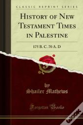 History Of New Testament Times In Palestine
