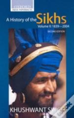 History Of The Sikhs1839-2004