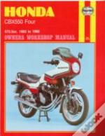 Honda Cbx550 Four Owner'S Workshop Manual