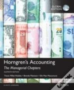 Horngren'S Accounting: The Managerial Chapters
