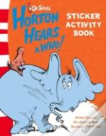'Horton Hears A Who' - Sticker Activity Book
