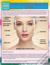 How To Apply Make Up Guide (Speedy Study Guide)