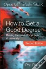How To Get A Good Degree