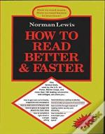How To Read Better & Faster