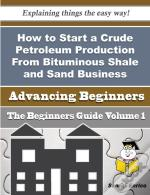 How To Start A Crude Petroleum Production From Bituminous Shale And Sand Business (Beginners Guide)