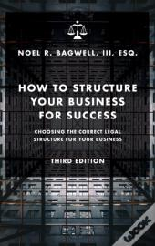 How To Structure Your Business For Success