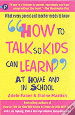 Wook.pt - How To Talk So Kids Can Learn