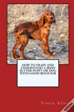 Wook.pt - How To Train And Raise A Irish Setter Puppy Or Dog With Good Behavior