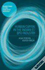 Human Capital In The Indian It / Bpo Industry