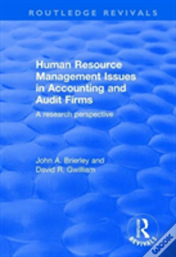Wook.pt - Human Resource Management Issues In Accounting And Auditing Firms