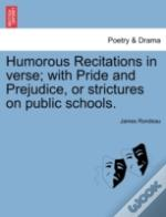 Humorous Recitations In Verse; With Prid