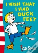 I Wish That I Had Duck Feetgreen Back Book