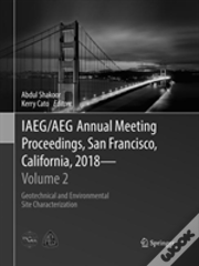 Iaeg/Aeg Annual Meeting Proceedings, San Francisco, California, 2018 - Volume 2