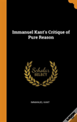Wook.pt - Immanuel Kant'S Critique Of Pure Reason