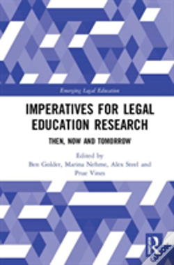 Wook.pt - Imperatives For Legal Education Res