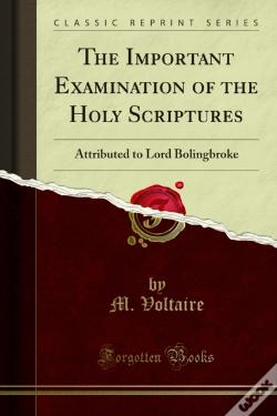 Wook.pt - Important Examination Of The Holy Scriptures
