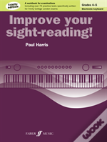 Improve Your Sight-Reading! Electronic Keyboard Grades 4-5