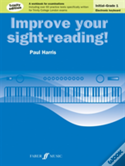 Wook.pt - Improve Your Sight-Reading! Electronic Keyboard Initial To Grade 1 Trinity Edition