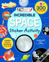 Incredible Space Sticker Activity