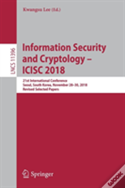 Wook.pt - Information Security And Cryptology - Icisc 2018