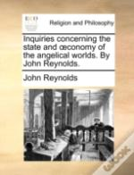 Inquiries Concerning The State And  Cono