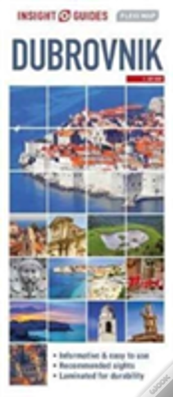 Wook.pt - Insight Guides Flexi Map Dubrovnik