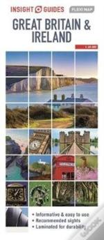 Insight Guides Flexi Map Great Britain & Ireland (Insight Maps)