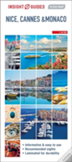 Wook.pt - Insight Guides: Flexi Map Nice, Cannes And Monaco