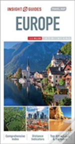 Insight Guides: Travel Map Europe