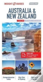 Insight Travel Map Australia & New Zealand