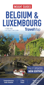Insight Travel Map: Belgium & Luxembourg