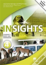 Insights Student'S Book And Workbook With Mpo Pack Level 4