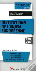 Institutions De L'Union Europeenne 9eme Edition