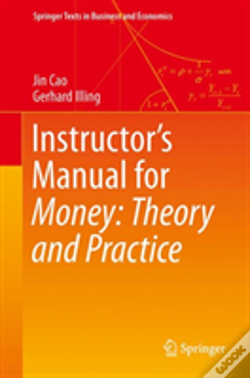 Wook.pt - Instructor'S Manual For Money: Theory And Practice