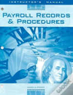 Instructor'S Manual To Accompany Payroll Records And Procedures