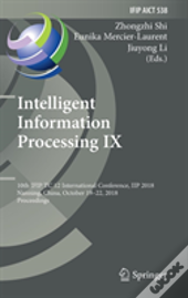 Intelligent Information Processing Ix
