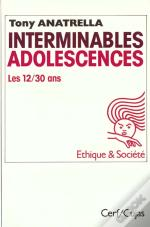 Interminables Adolescences 12-30 Ans