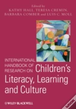 Wook.pt - International Handbook Of Research On Children'S Literacy, Learning And Culture