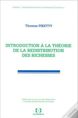 Wook.pt - Introduction A La Theorie De La Redistribution Des Richesses