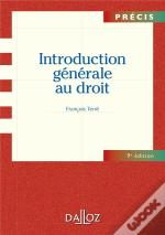 Introduction Generale Au Droit - 9e Edition