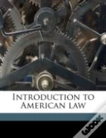 Introduction To American Law