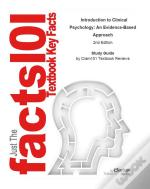 Introduction To Clinical Psychology, An Evidence-Based Approach