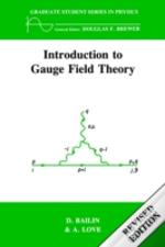 Introduction To Gauge Field Theory
