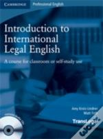 Introduction To International Legal English Student'S Book With Audio Cds (2)