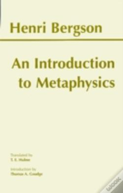 Wook.pt - Introduction To Metaphysics