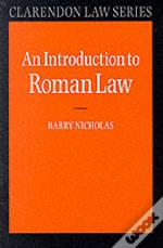 Introduction To Roman Law