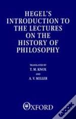 Introduction To The Lectures On The History Of Philosophy