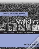 Introductory Statisticsstudent Solutions Manual