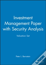 Investment Managementand 'Security Analysis'