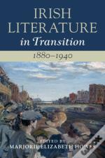 Irish Literature In Transition, 1880-1940: Volume 4